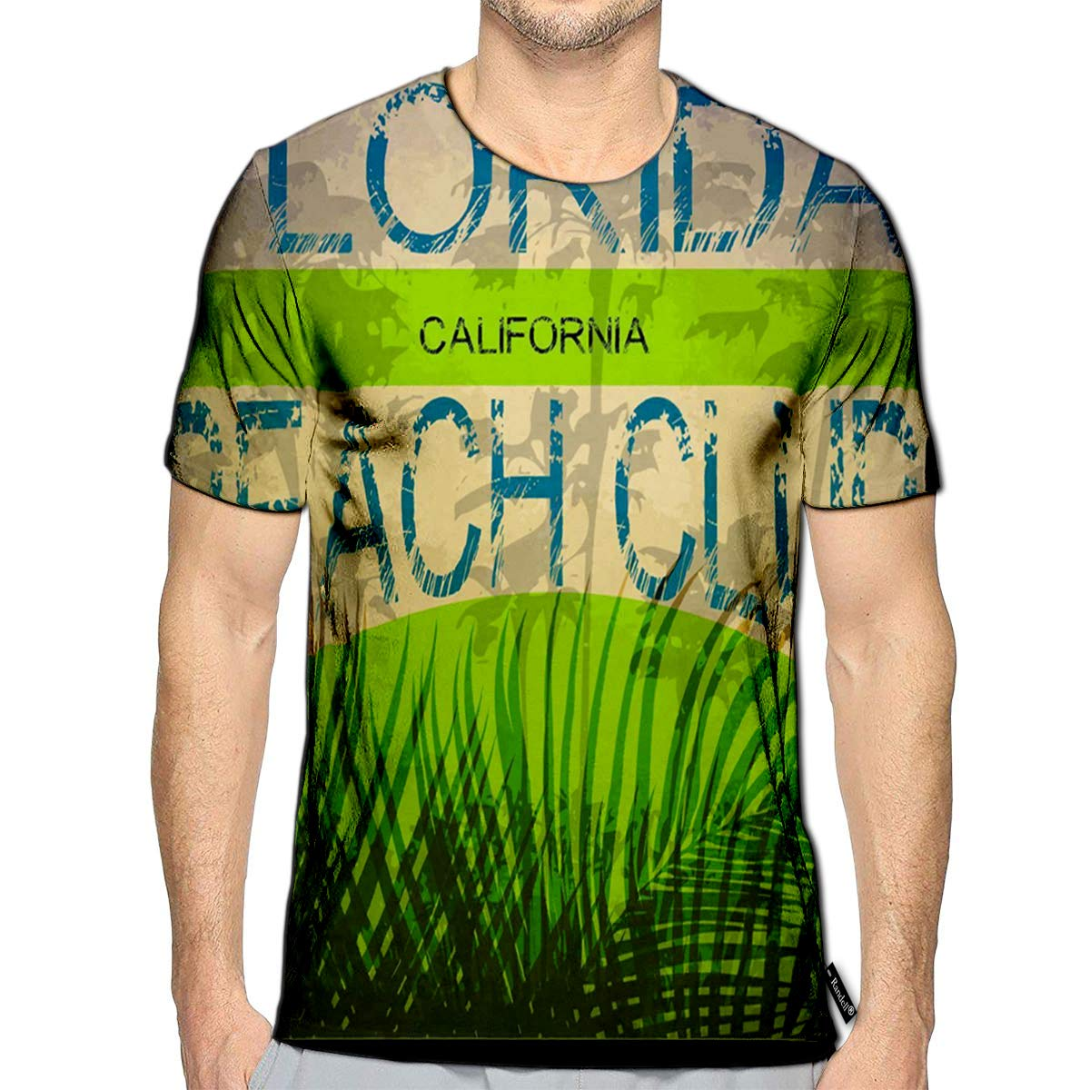 Randell 3D Printed T-Shirts Material Stardust Polka Glitter Light Bright Glitteringheave