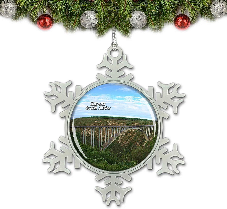 Umsufa South Africa Garden Route Knysna Christmas Ornament Tree Decoration Crystal Metal Souvenir Gift