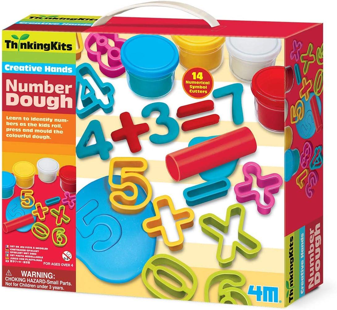 4M Thinking Kits Number Dough Kit