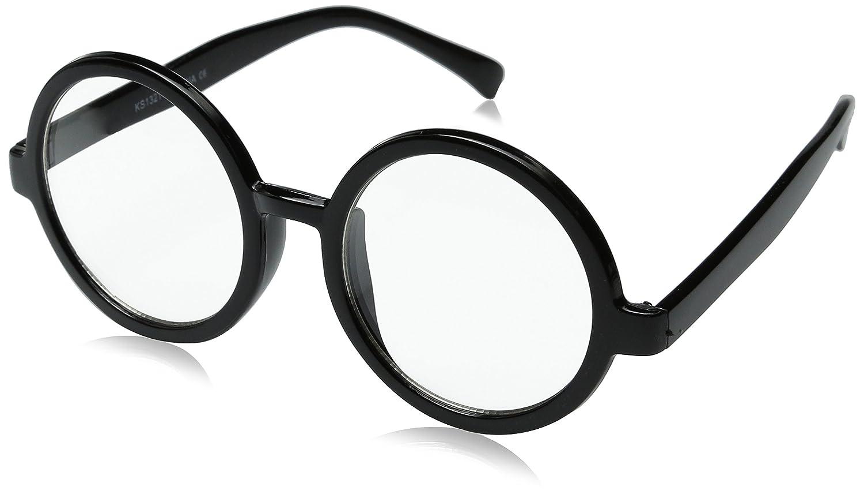 29332d837 Amazon.com: Vintage Inspired Eyewear Round Circle Clear Lens Glasses  Eyeglasses (Black): Shoes