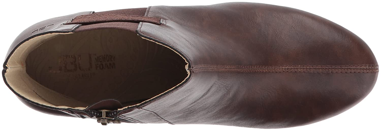 JBU by Jambu Women's Peterson Ankle Bootie B06XDZV321 11 B(M) US Brown