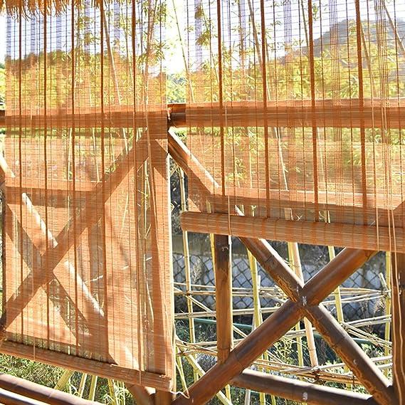 Persiana de bambú Persianas Premium para Interiores/Exteriores (Interior/Exterior) Cortinas Enrollables para Ventanas/Persianas, Patio Gazebo Pérgola Marquesina Techada, 85cm/105cm/125cm/145cm De: Amazon.es: Hogar