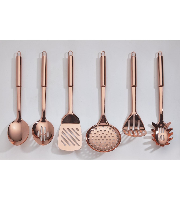 6 6 6 Kupfer versilbert Küche Werkzeug Set B01N5QBCOQ Lffel, Spachtel & Wender 21fdda