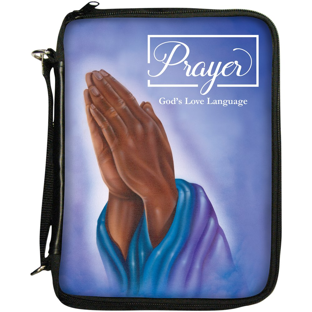 African American Expressions - Prayer: God's Love Language Book/Bible  Organizer (7 5
