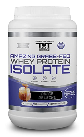 Amazing Grass Fed Whey Protein Powder. The Finest Protein Shake for Healthy Gut Bacteria,