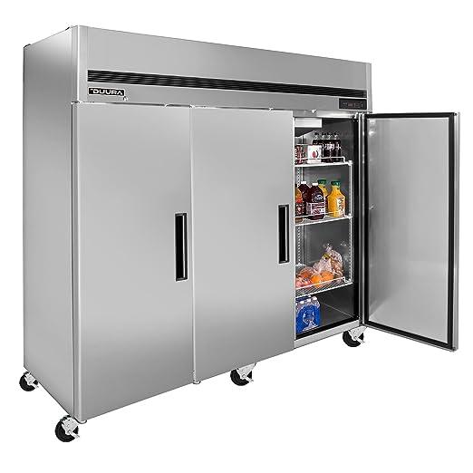 Amazon.com: duura dlft3 montaje superior reach-in Congelador ...
