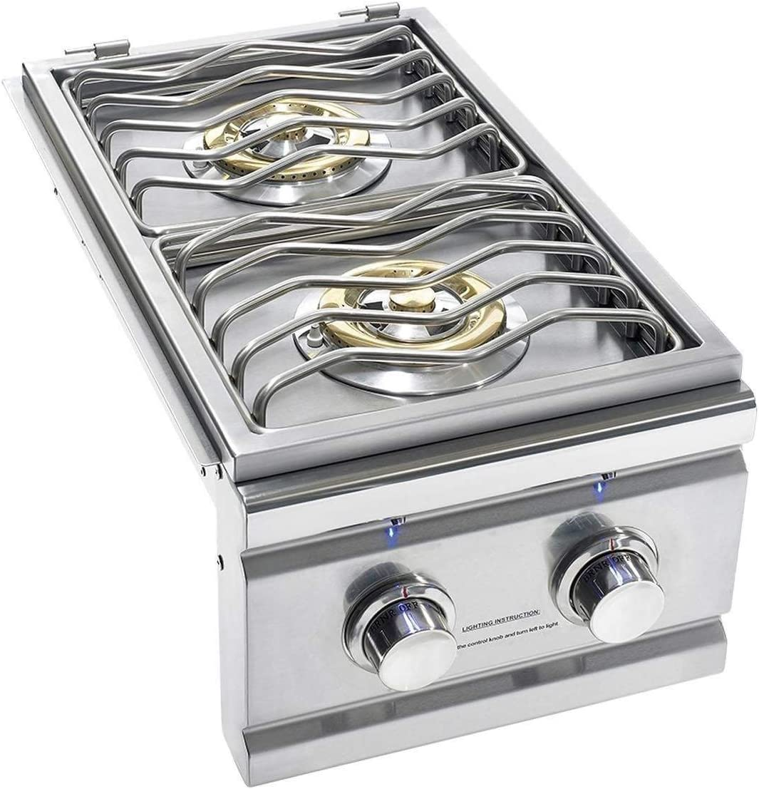 Summerset TRL Series Built-in Double Side Burner (TRLSB-2-NG), Natural Gas