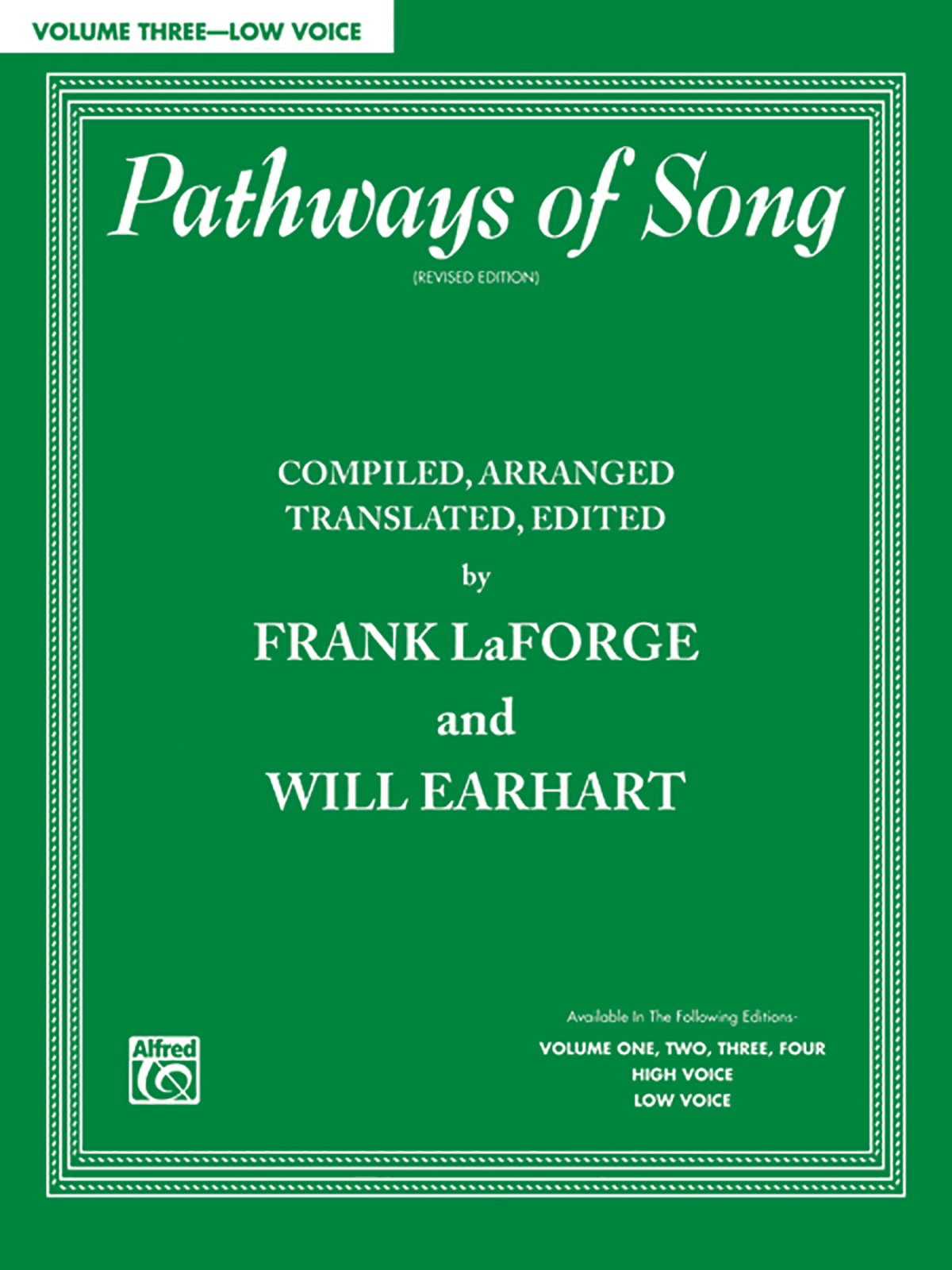 Pathways of Song, Vol 3: Low Voice (Pathways of Song Series) pdf