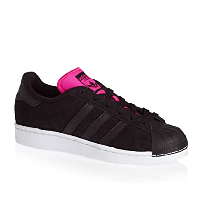 the latest 9e087 7f8d1 adidas Superstar W, Chaussures de Sport Femme - Noir - Noir (NegbasNegbas