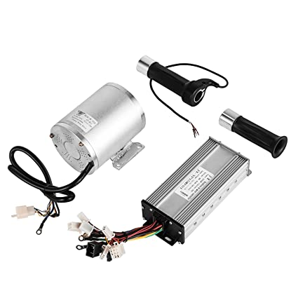 mophorn 1800w electric brushless dc motor kit 48v high speed brushless  motor with 32a speed controller