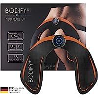 Bodify® EMS-trainingsapparaat voor gerichte stimulatie van de bilspieren. - Spieropbouw – EMS heuptrainer – elektrisch stimulatie-apparaat bilspieren – fitness training voor vrouwen het origineel.