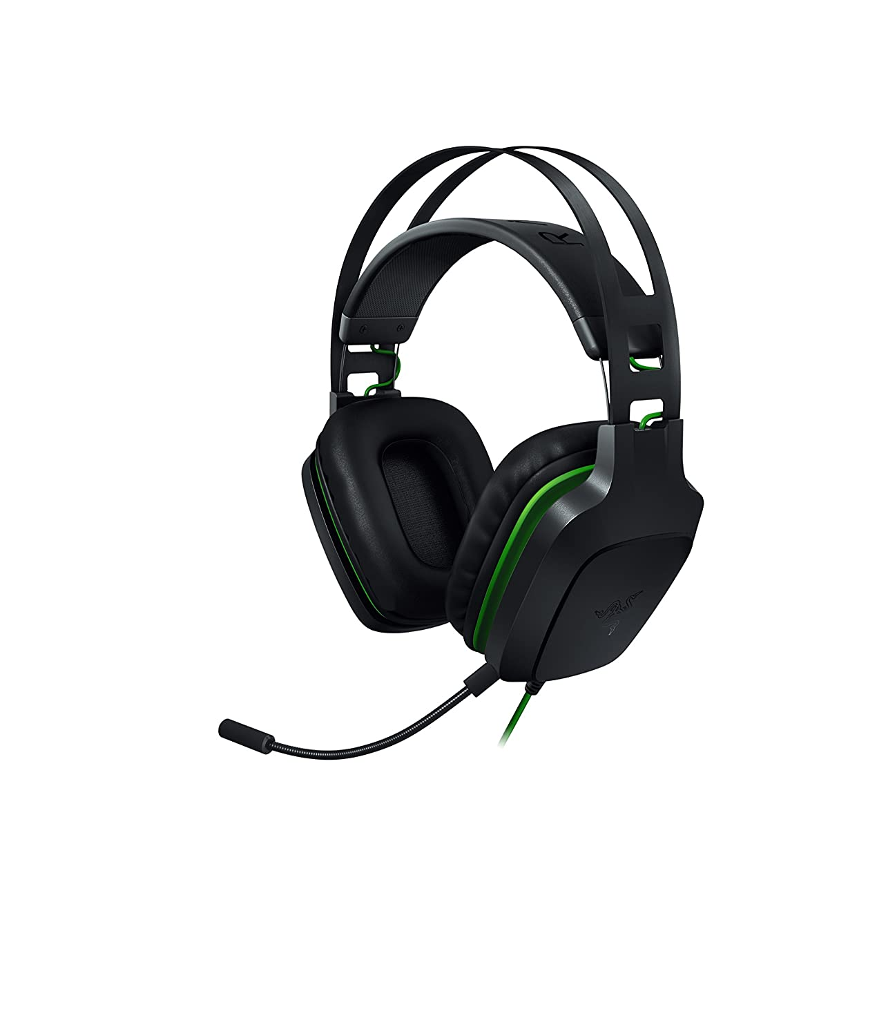 Razer Electra V2: 7.1 Surround Sound - Auto Adjusting Headband - Detachable Boom Mic with In-Line Controls - Gaming Headset Works with PC, PS4, Xbox One, Switch, & Mobile Devices