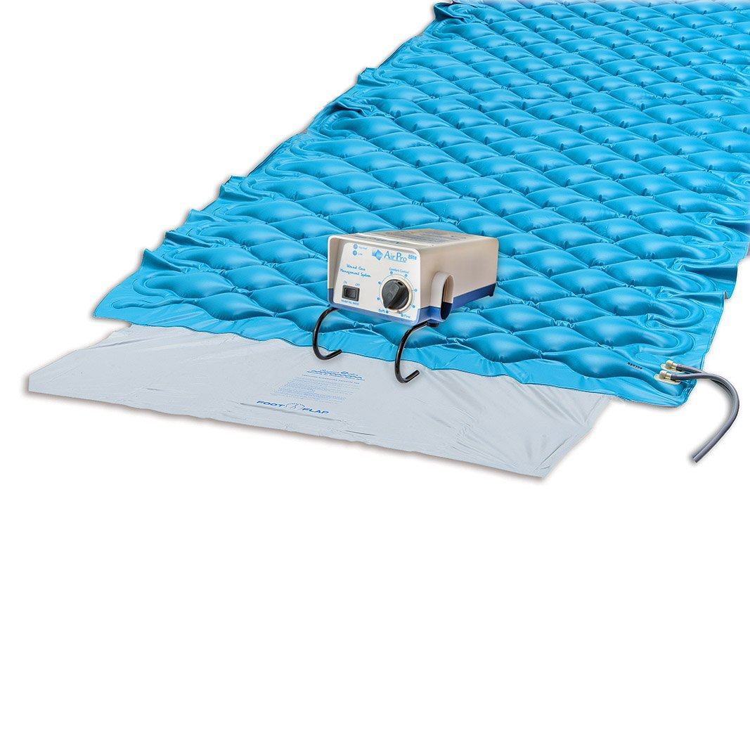 Blue Chip Medical Products 4400 AIR PRO Elite Alternating Pressure Pad & Pump Pad & Adjustable Pump, 35'' x 79'' x 2.5''