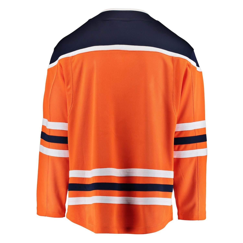 Fanatics NHL Eishockey Trikot Jersey Edmonton Oilers Breakaway by Home orange