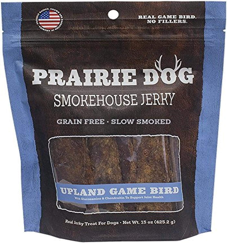 Prairie Dog Pet Products Smokehouse Jerky, 15 Oz., Upland Game Bird