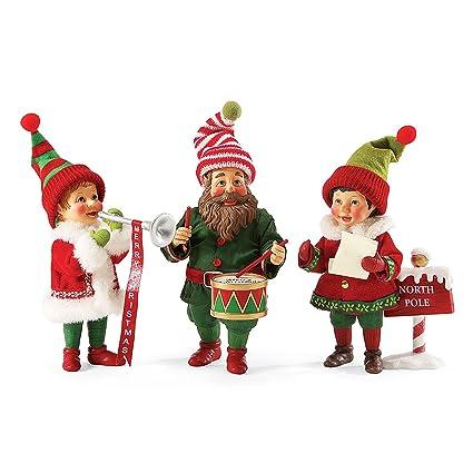 6e7e1f3ffe cute christmas elves patterns illustrations creative market ...