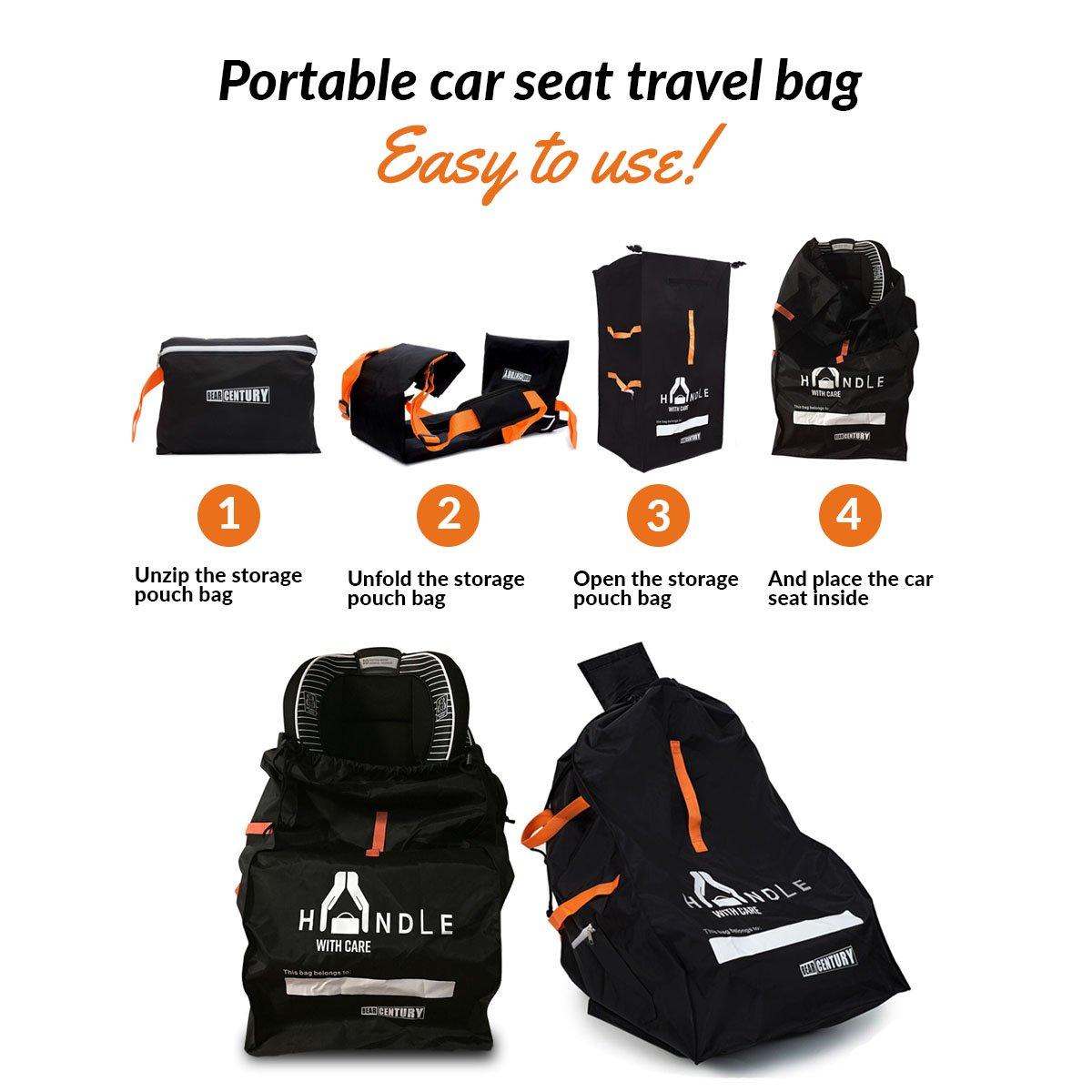 Amazon Heavy Duty Car Seat Travel Bag By Bear Century