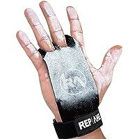 REP AHEAD®️ Grips 2.0 – La Super Protection – Maniques Extra Robustes pour Une Performance optimale pour Gym | Crossfit | Musculation | Gymnastique | Sport (Gants pour Homme & Femme)