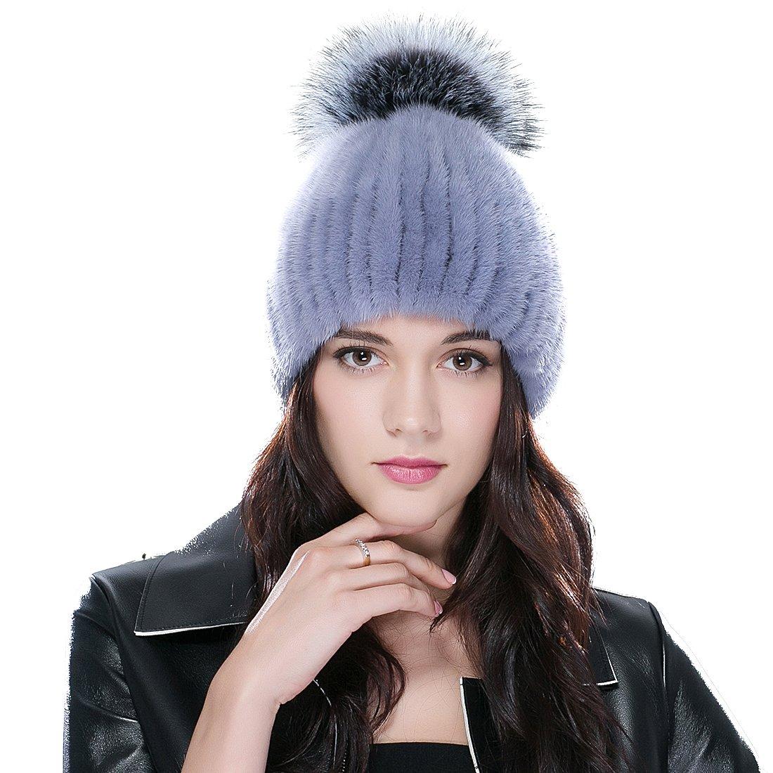 URSFUR HAT レディース One Size Sapphire&silver B0158HM4RQ