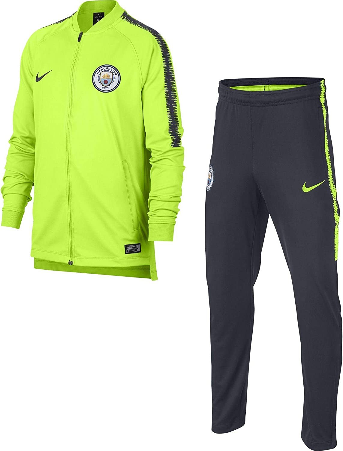 Nike Manchester City FC Dry Squad Track Suit K Chándal, Unisex ...