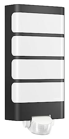 Steinel Lámpara de Exterior L 244 LED Antracita Detector Movimiento Iluminación
