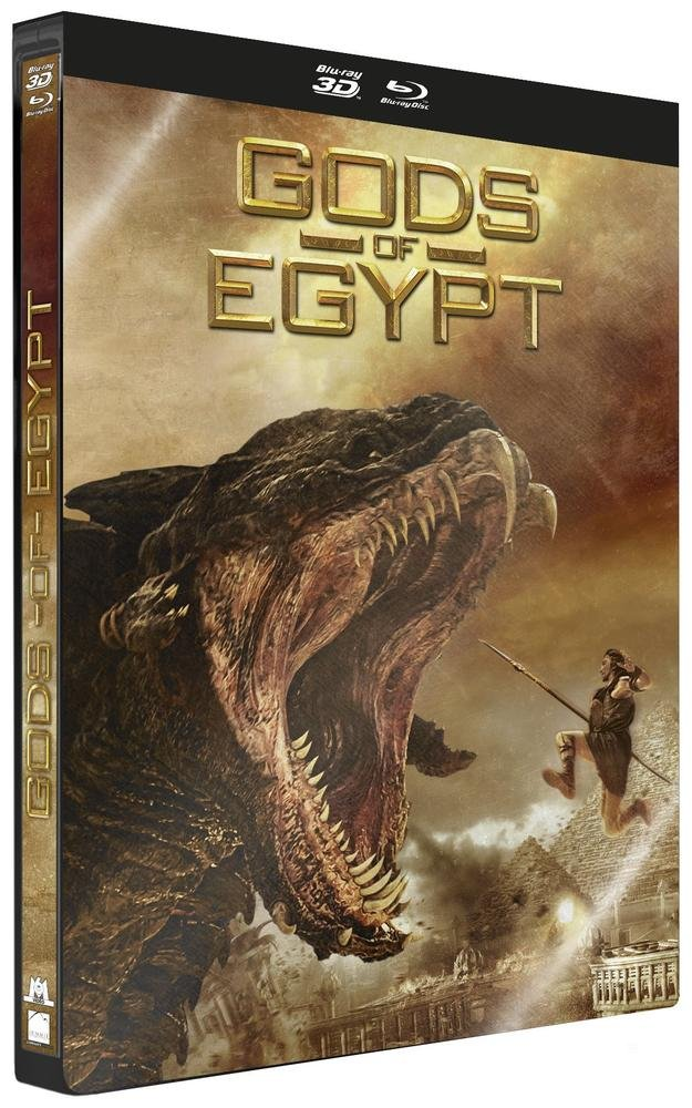 Gods Of Egypt - Edition Steelbook [Combo Blu-ray 3D + Blu-ray - Édition boîtier SteelBook]