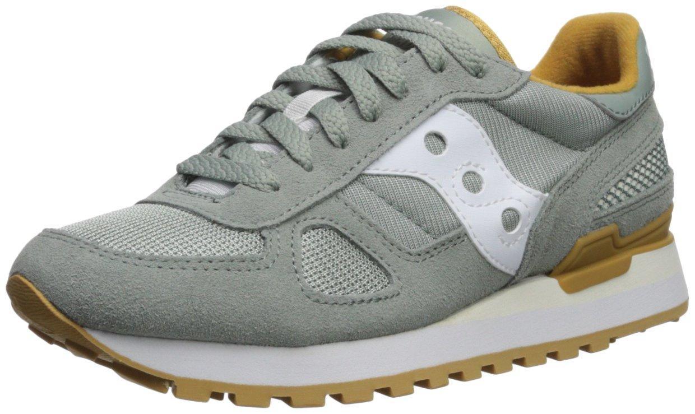 Saucony Originals Women's Shadow Original Running Shoe B071ZZMMSH 12 B(M) US Green/White