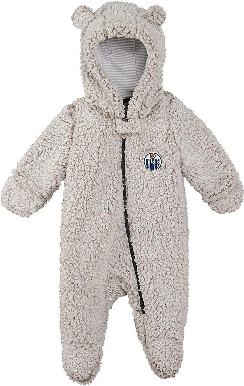 Edmonton Oilers Newborn Even Strength 3-Piece Creeper Set