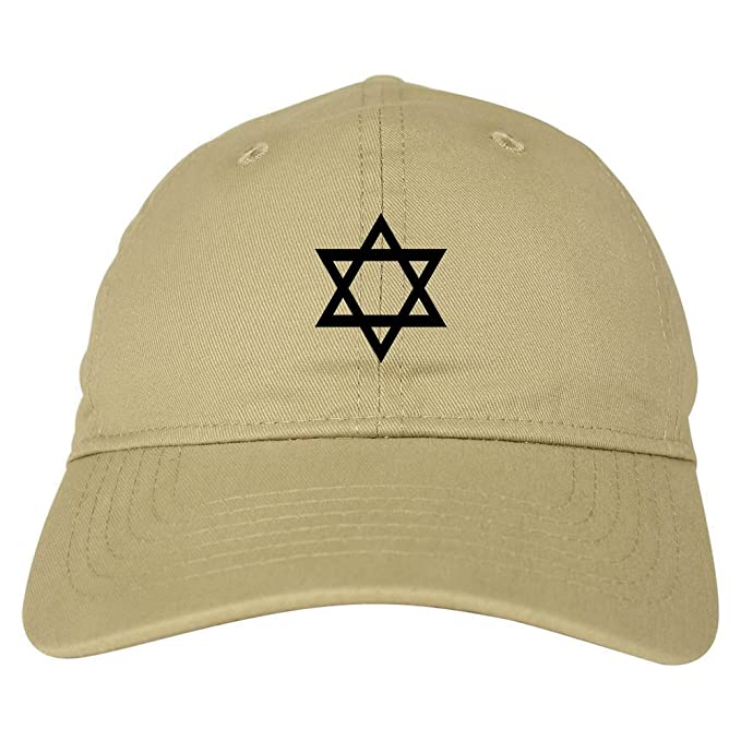 Star Of David Chest Dad Hat Baseball Cap Beige at Amazon Men s ... 238d3e87fc6