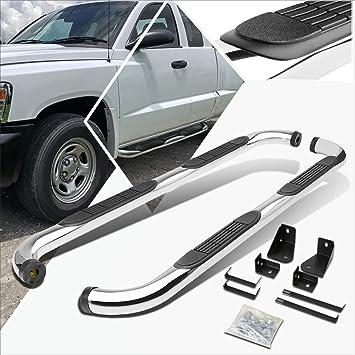 "For 2009-2018 Dodge Ram 1500 Crew Cab 3/"" SS Side Step Nerf Bar Board Chrome"