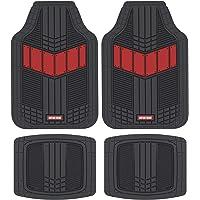 $29 » Motor Trend DualFlex Two-Tone Rubber Car Floor Mats for Automotive SUV Van Truck Liners…