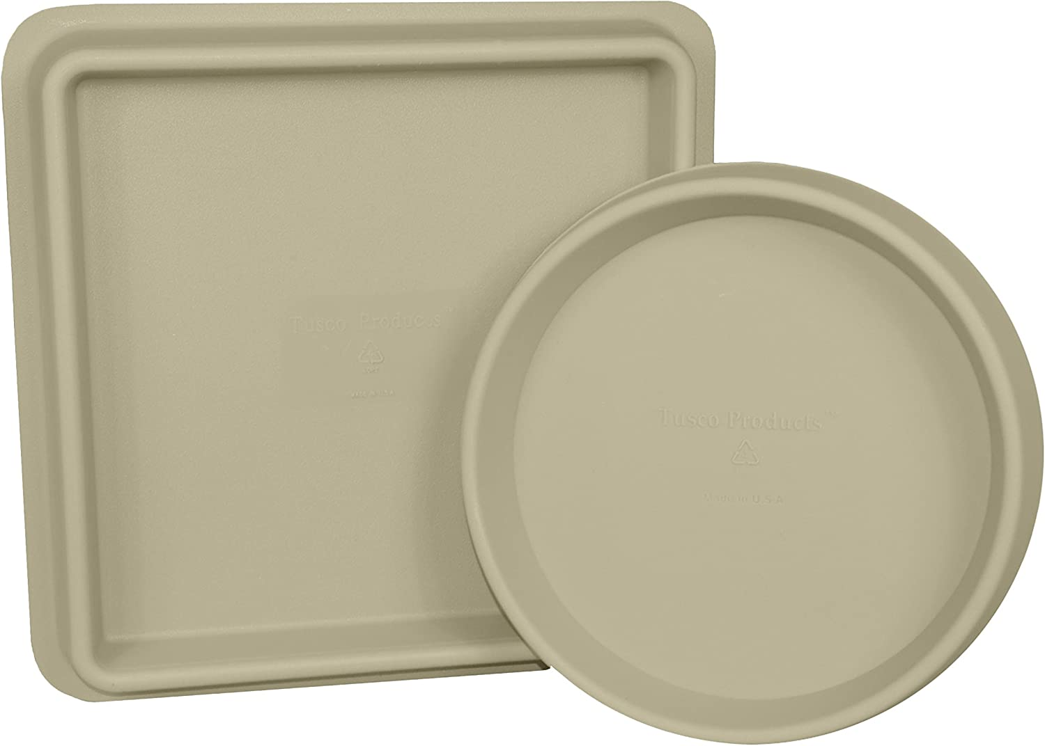 Desert Tusco Products TRSQ11DS Square Saucer 11