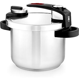 BRA Tekna - Set de ollas a presión rápida, 4 y 7 litros de fácil uso ...