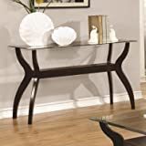 Coaster Home Furnishings 704629 Sofa Table, Cappuccino