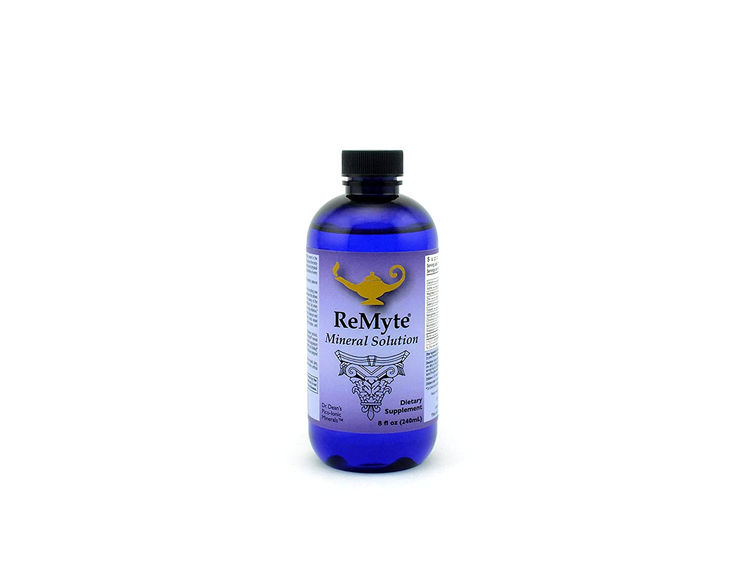 ReMyte Mineral Solution Dr. Carolyn Dean s PicoMeter Multiple Minerals from RnA ReSet 240 mls