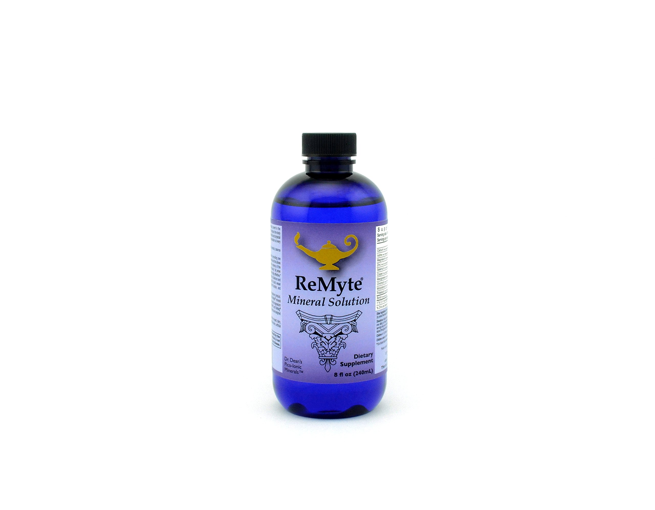 ReMyte Mineral Solution Dr. Carolyn Dean's PicoMeter Multiple Minerals from RnAReSet 240 mls
