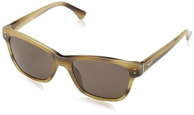 Zadig & Voltaire Damen Sonnenbrille Szv056N, Braun (Brown Streaked Havana+Honey), Einheitsgröße