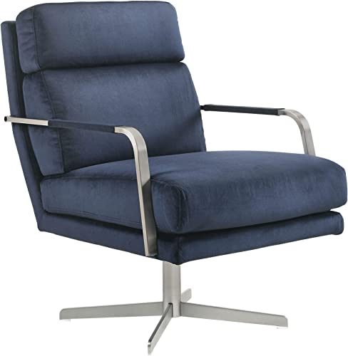 Picket House Furnishings Garrett Mid-Century Swivel Accent Chair