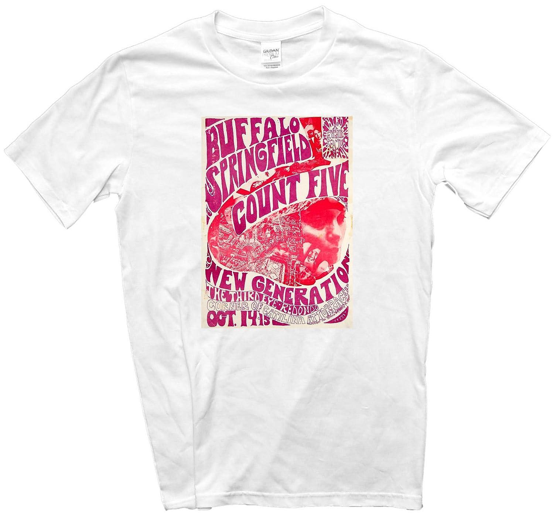 Buffalo de ropa de cama Five Springfield T-camiseta de manga corta ...
