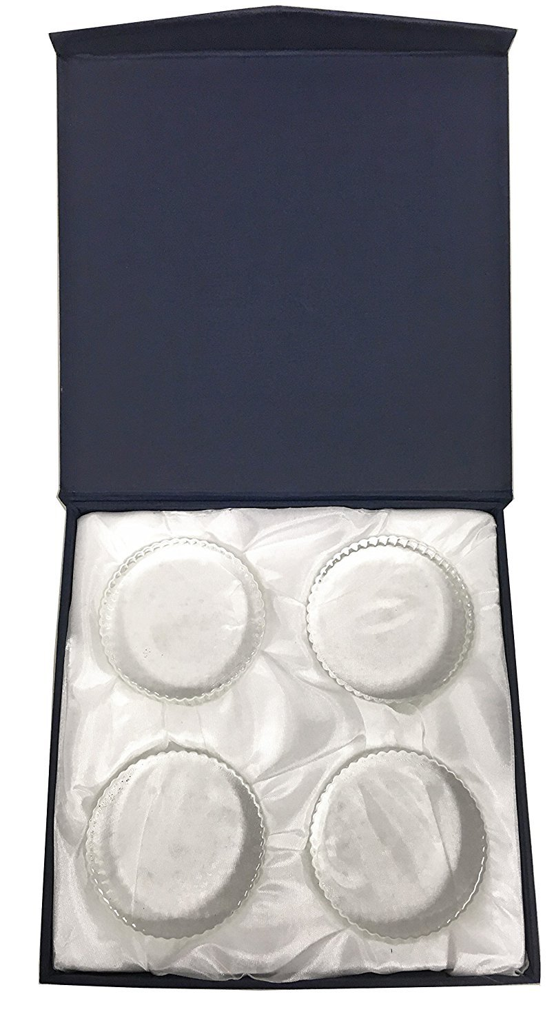 Amlong Crystal Fermentation Weights, Set of 4, Large for Wide Mouth Mason Jar with Gift Box