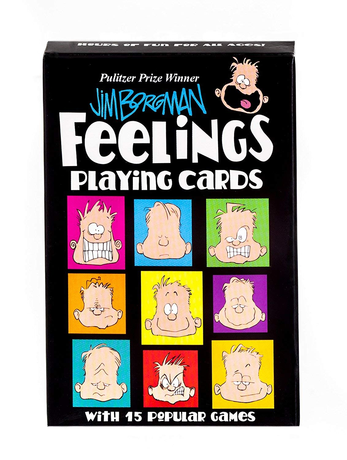Feelings Playing Cards by Jim Borgman Pulitzer Prize Winner by Time Promotions