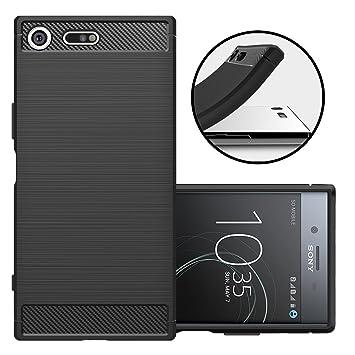 Funda Sony Xperia XZ Premium, Beyeah Carcasa protectora resistente a los arañazos de TPU flexible suave y extremadamente ligera y fina para Sony ...