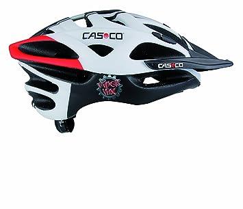 Casco Viper - Casco de ciclismo, tamaño 52 - 57, color negro / blanco