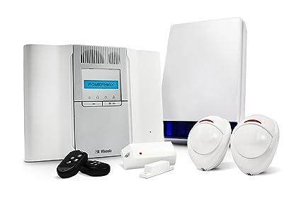 Wa21 - Powermax Visonic ajuste rápido para alarmas de 2 x 1 x contacto de puerta