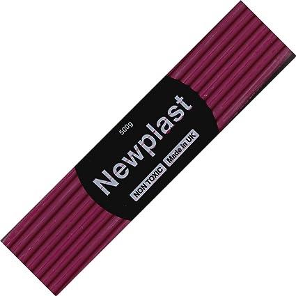 Newplast Purple Plasticine Coloured Modelling Clay Non Toxic Non Hardening Clay