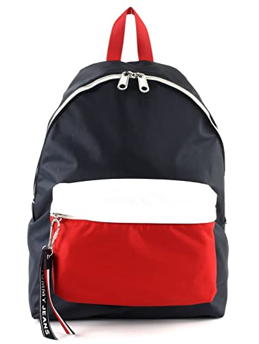 fa73d59053 TOMMY HILFIGER Tommy Jeans Logo Backpack Corporate CB: Amazon.co.uk ...