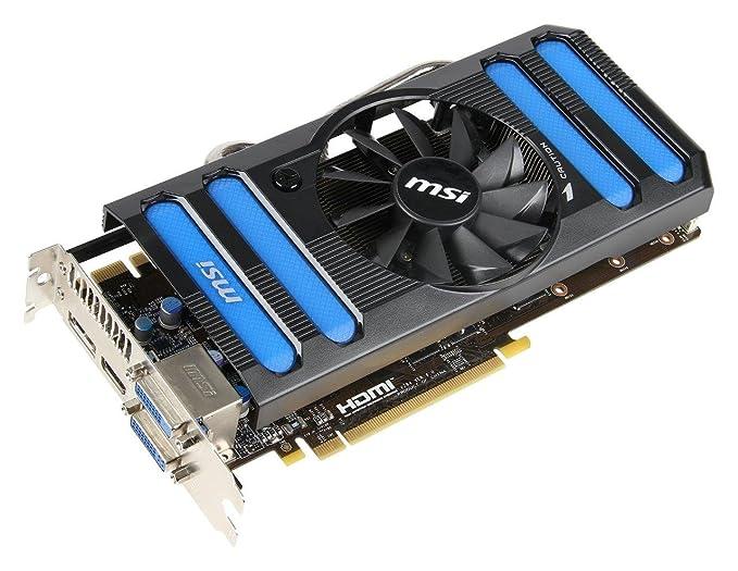 Amazon.com: MSI NVidia GeForce GTX 660 Ti Tarjeta Gráfica ...