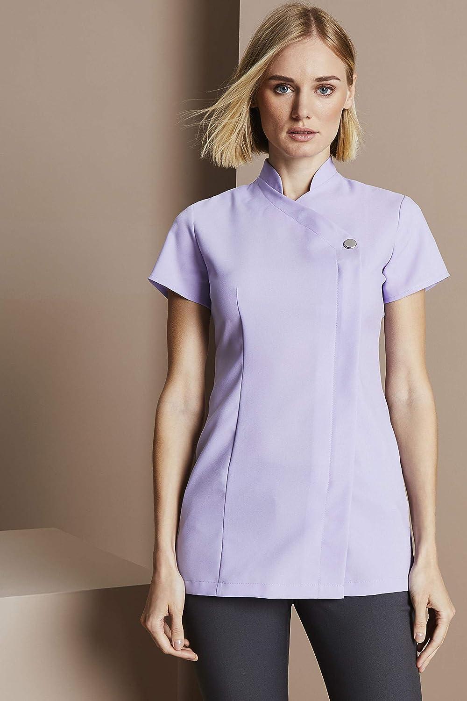 One Button Beauty Tunic Spa Salon Workwear Uniform