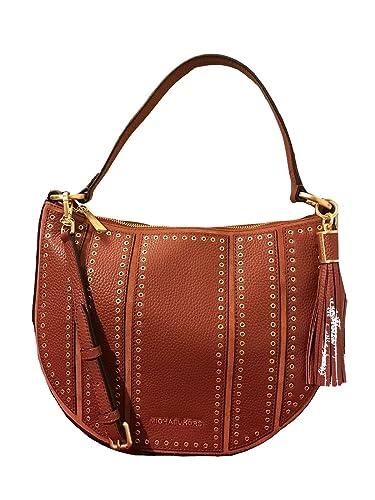 b0c3196983fe Michael Kors Mini Grommets Shoulder Bag Brick: Handbags: Amazon.com