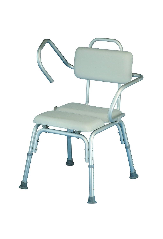 Homecraft Lightweight Padded Shower Chair, Adjustable Bath Seat with ...
